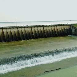 Gangrel Dam in Dhamtari
