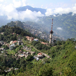 Gangtok Hills in Gangtok
