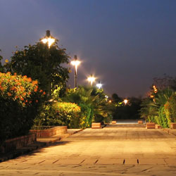 Garden of Five Senses in New Delhi