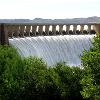 Gariep Dam Nature Reserve in Free State