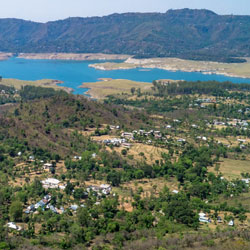 Gobind Sagar Lake in Una