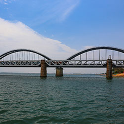 Godavari Bridge in Rajahmundry