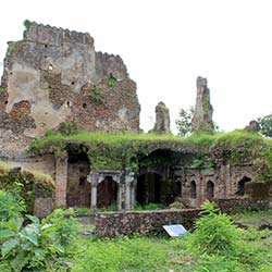 Gond Raja Fort in Chandrapur