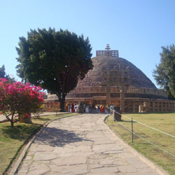 Great Stupa in Sanchi