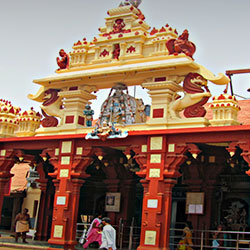 Gundala Matha Shrine in Vijayawada