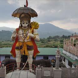 Hanuman Garhi in Nainital