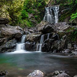 Hanumangundi Falls in Chikmagalur