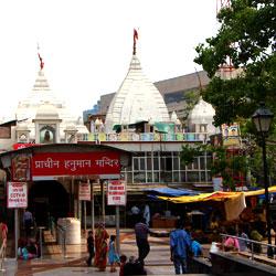 Hanuman Mandir in Delhi