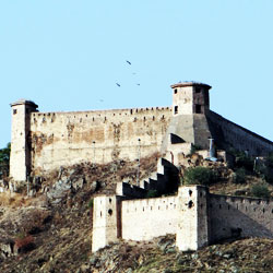 Hari Parbat Fort in Srinagar