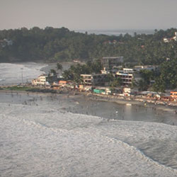 Hawah Beach in Kovalam