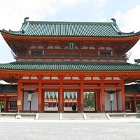 Heian Shrine in Kyoto