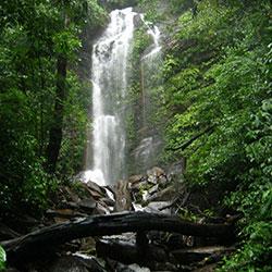 Hidlumane Falls in Shimoga
