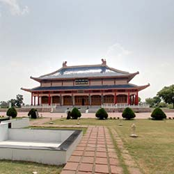 Hiuen Tsang Memorial Hall in Nalanda