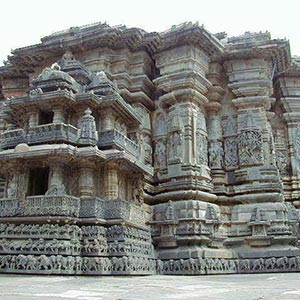 Hoysaleswara Temple in Belur