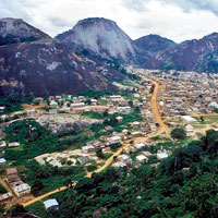 Idanre Hill in Ondo