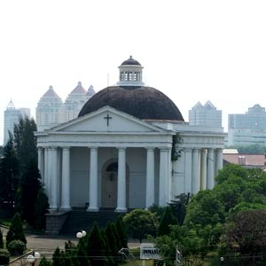 Immanuel Church in Jakarta