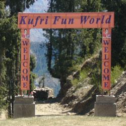 Indira Tourist Park in Kufri