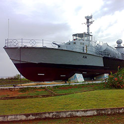 INS-Chapel Warship Museum in Karwar