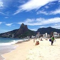 Ipanema in Rio De Janeiro