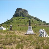 Isandlwana Hill in Battlefields