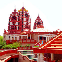 Iskcon Temple in New Delhi