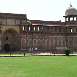 Jahangir Palace in Agra