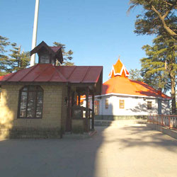 Jakhu Temple in Shimla