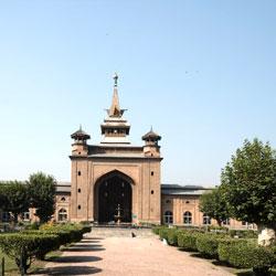 Jama Masjid in Srinagar