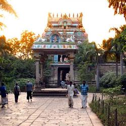 Jambukeshwara Temple in Trichy