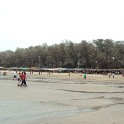 Jampore Beach in Daman & Diu