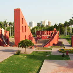 Jantar Mantar in New Delhi