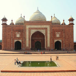 Jawab Masjid in Agra