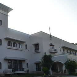 Jhira Bagh Palace in Dhar