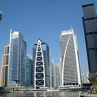 Jumeirah Lake Towers  in