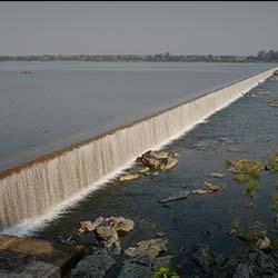 Kadam Dam in Adilabad