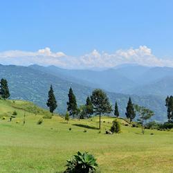 Kalimpong Hills in Darjeeling