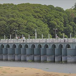 Kallanai Dam in Trichy