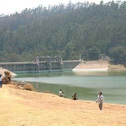 Kamaraj Sagar Dam in Ooty