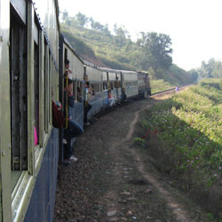 Kangra Valley Railway in Kangra
