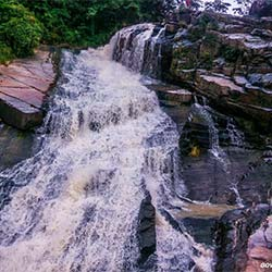 Kanti Waterfalls in Latehar