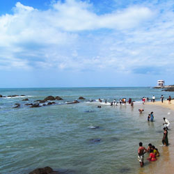 Kanyakumari Beach in