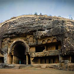 Karla-Bhaja Caves in Lonavala