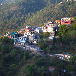 Kasauli Hills in Shimla