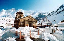 Kedarnath Temple in Kedarnath