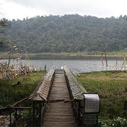 Khecheopalri Lake Sikkim in Pelling