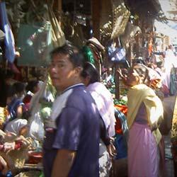 Khwairamband Bazaar in Imphal