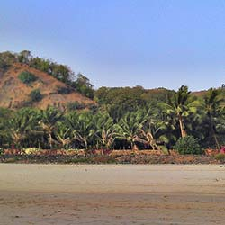 Kihim Beach in Alibag
