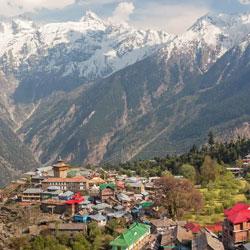 Kinner Kailash in Kalpa