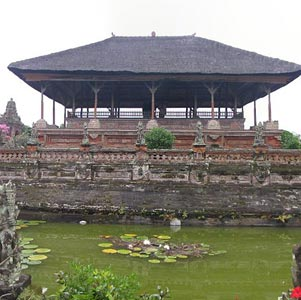Klungkung Palace in Bali