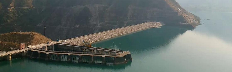 Koldam Dam in Bilaspur